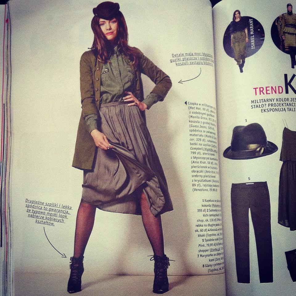 stylizacje z kapeluszem hathat na jesień z magazynu joy