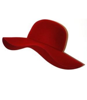 kapelusz bb czerwony 8