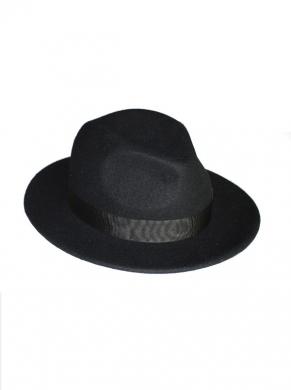 kapelusz fedora classic ciemny 6