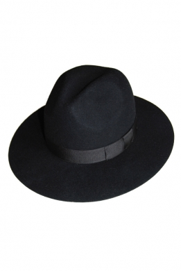 kapelusz indy classic czarny 12