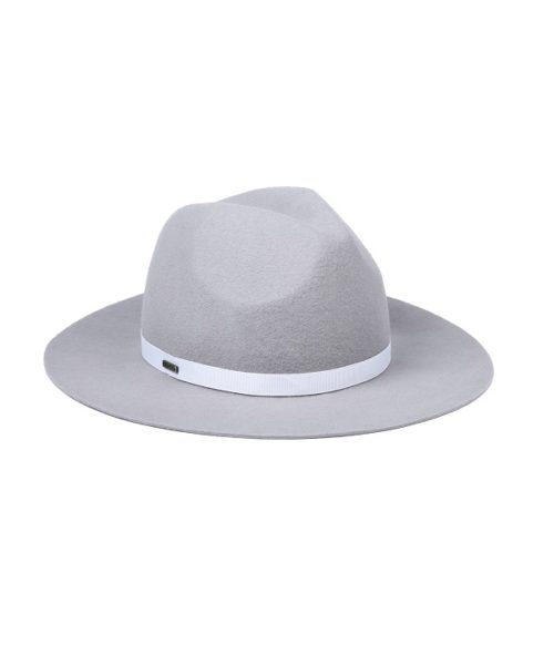 kapelusz indy w kolorze szarym