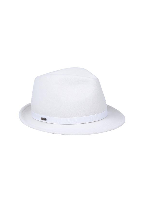kapelusz model mike w kolorze białym