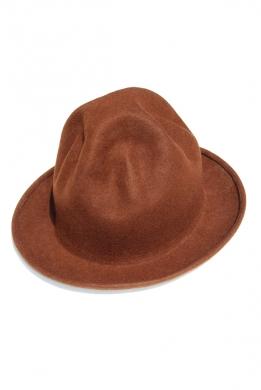kapelusz pharella brązowy 2