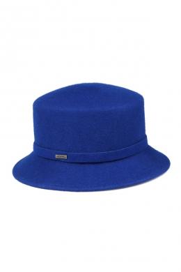 kapelusz retro inblue niebieski