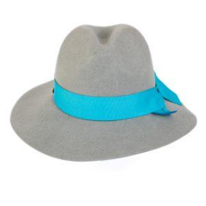 kapelusz indy wiązany niebieską wstążką nowa kolekcja