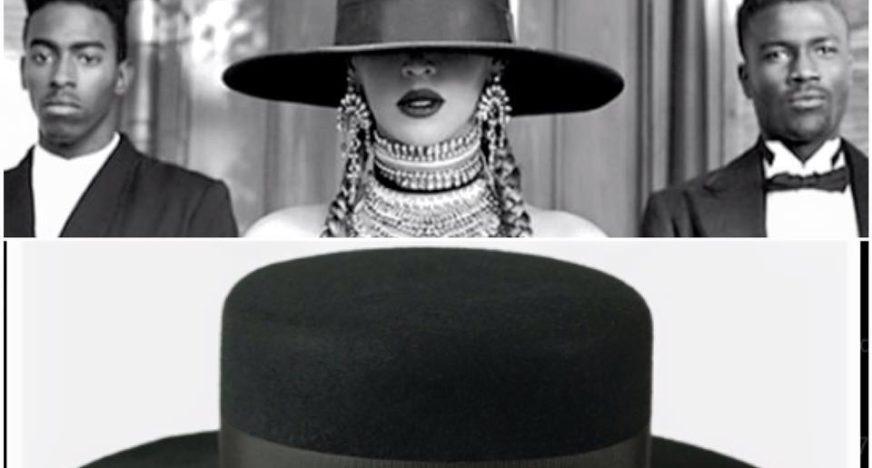 beyonce kapelusz