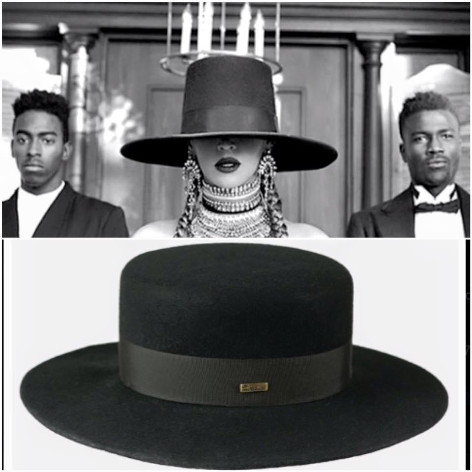 kapelusz beyonce