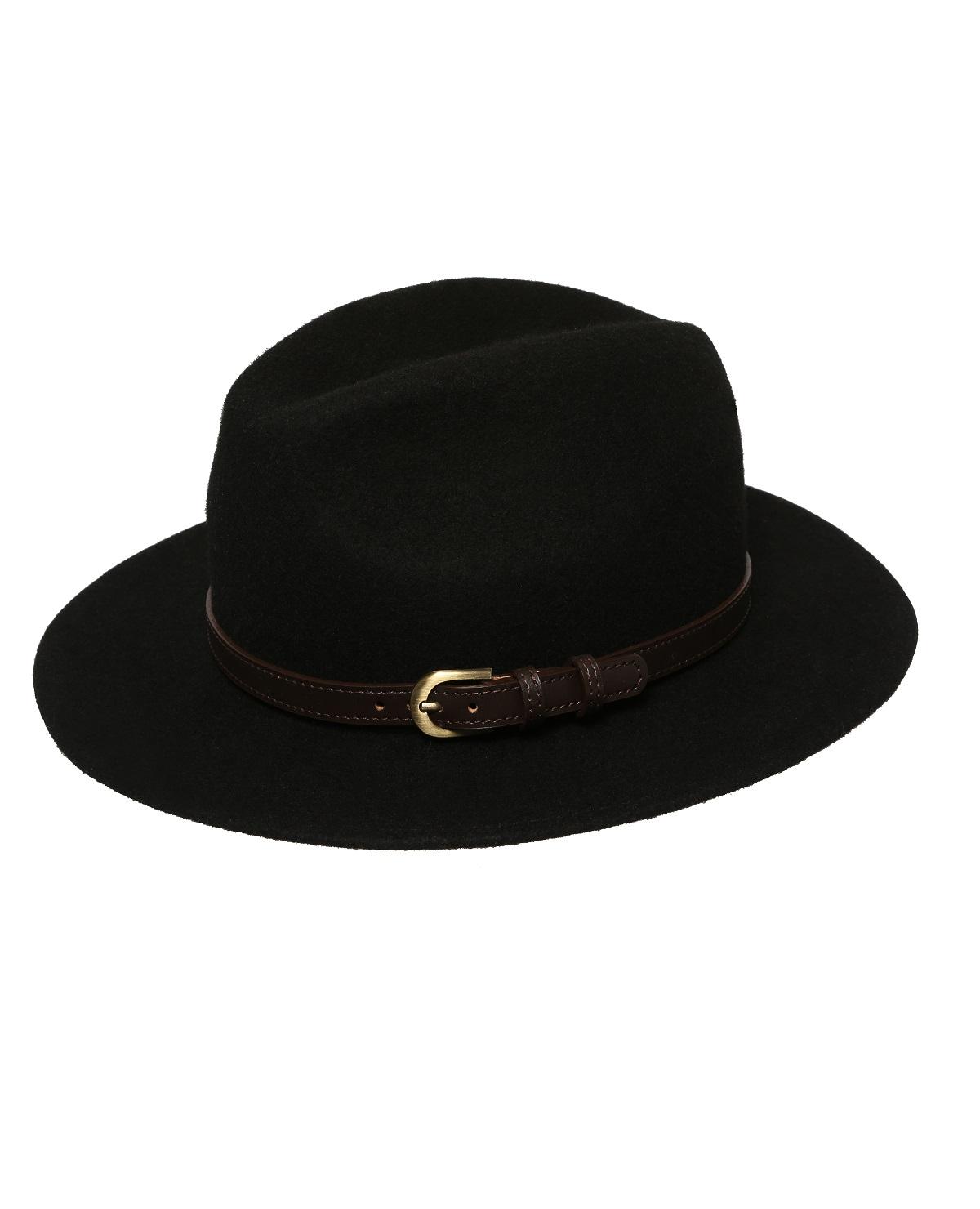 kapelusz fedora z paskiem