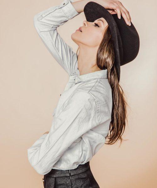 kapelusz indy black classic 2