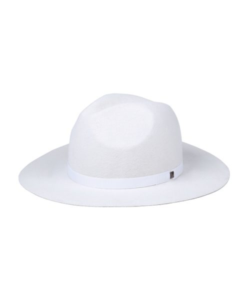 kapelusz indy biały ćwiek
