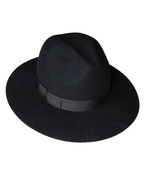 kapelusz indy black classic
