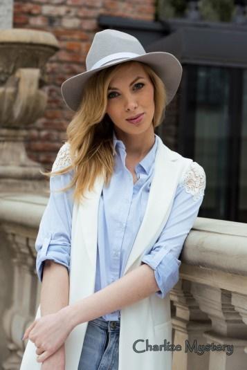 elegancki kapelusz indy szary 2