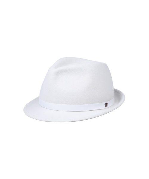 kapelusz mike biały ćwiek
