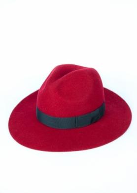 kapelusz indy classic czerwony 10