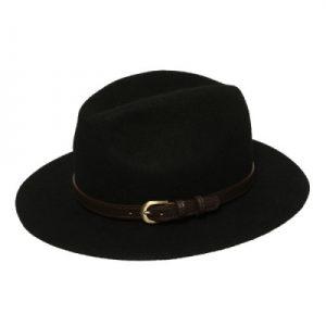 modny kapelusz fedora z paskiem 3