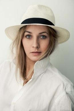 kapelusz panama basic jasny