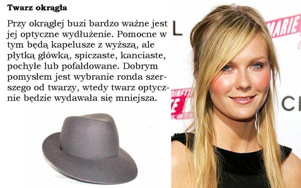 kapelusz idealny do twarzy okrągłej
