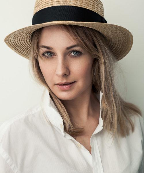kapelusz letni kanotier klasyczny 2