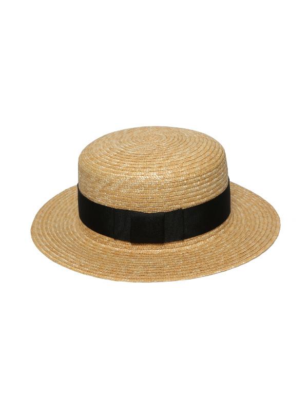 kapelusz letni kanotier klasyczny