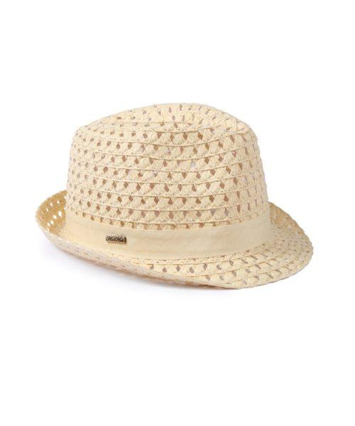 kapelusz dziecięcy ażur beż