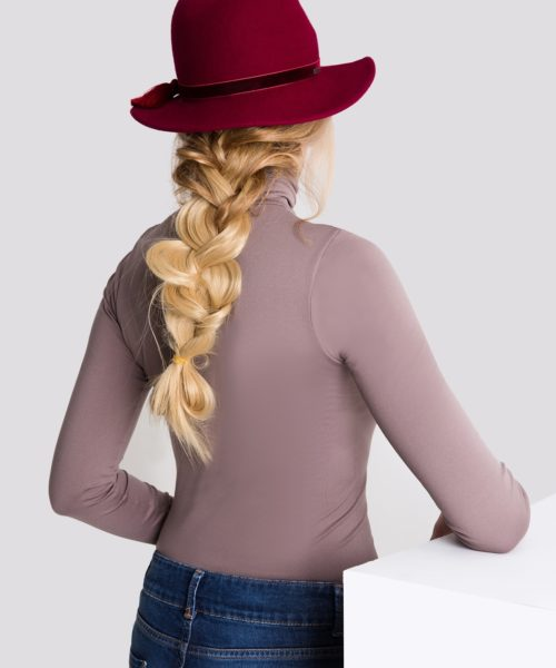 kapelusz z rondem stylizacja