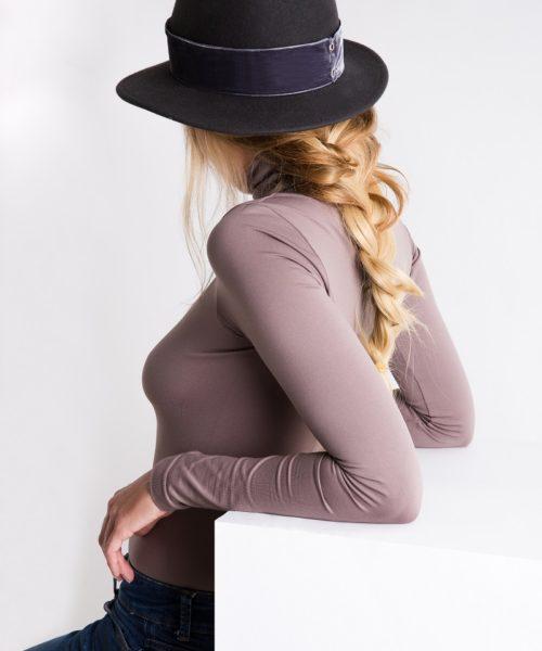 kapelusz fedora velvet 2