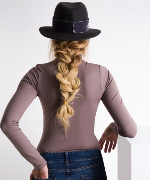 kapelusz fedora velvet