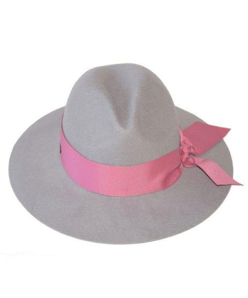 kapelusz indy joy pink kolekcja od hathat