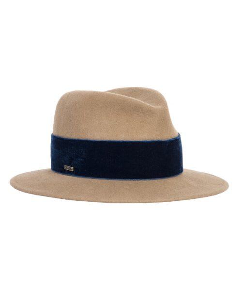 z nowej kolekcji kapeluszy niebieskich