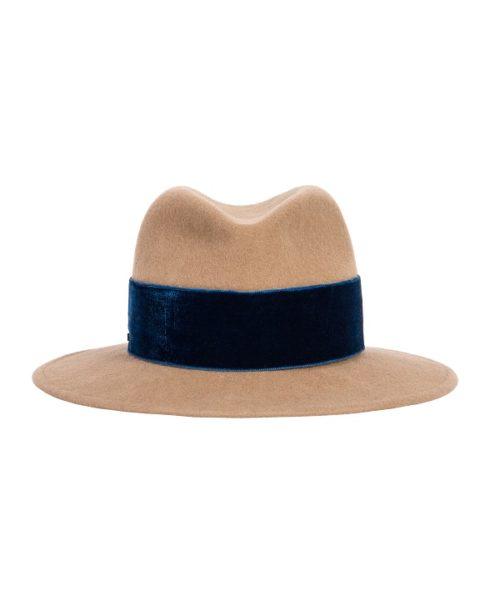 kapelusz nowa kolekcja niebieska