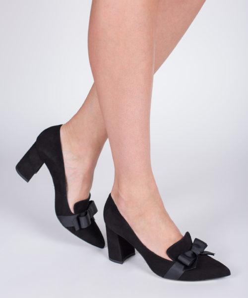 obuwie damskie czarne bravomoda
