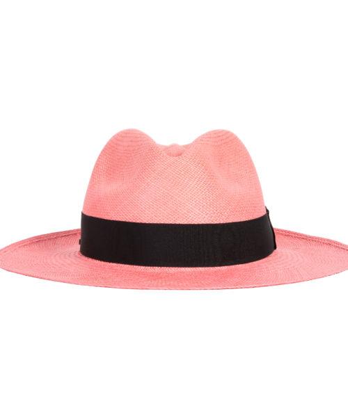 klasyczny kapelusz różowy