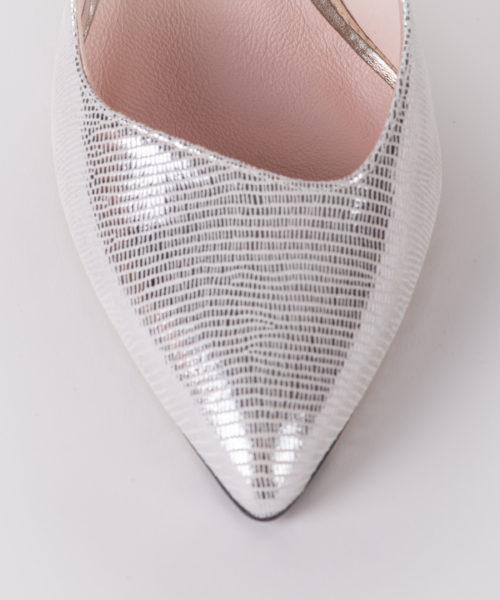 szpilki bravomoda srebrne
