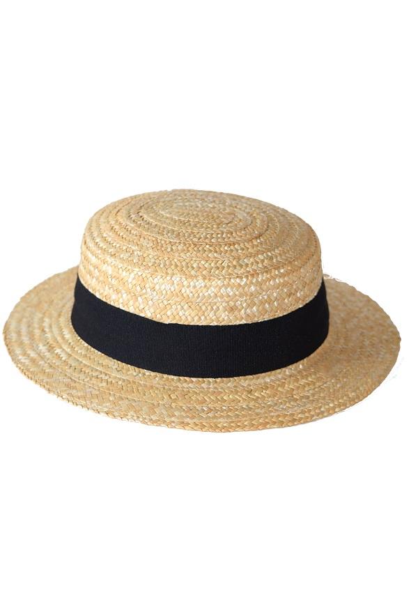 kapelusz letni kanotier