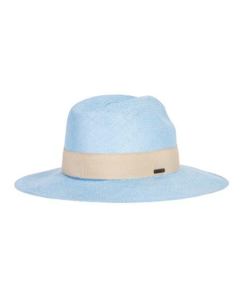 niebieski kapelusz na lato panama hathat