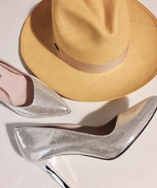 kapelusz w komplecie ze szpilkami bravo moda