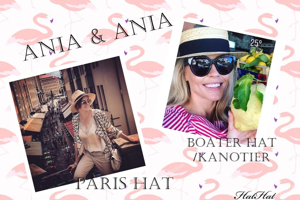 baner kapelusz paris czy kanotier