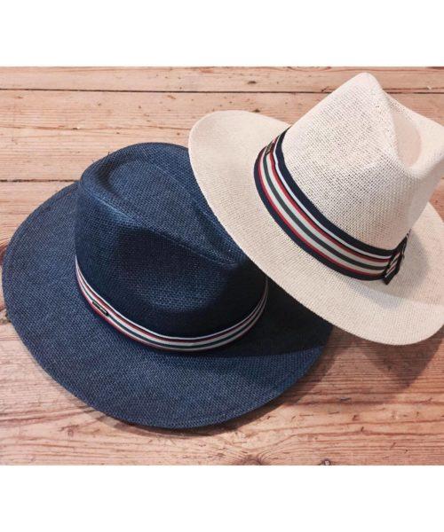 kapelusze letnie saint tropez w wersji jasnej i ciemnej