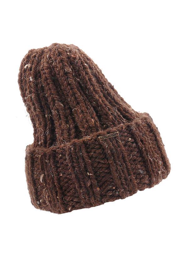 czapka 3w1 brąz