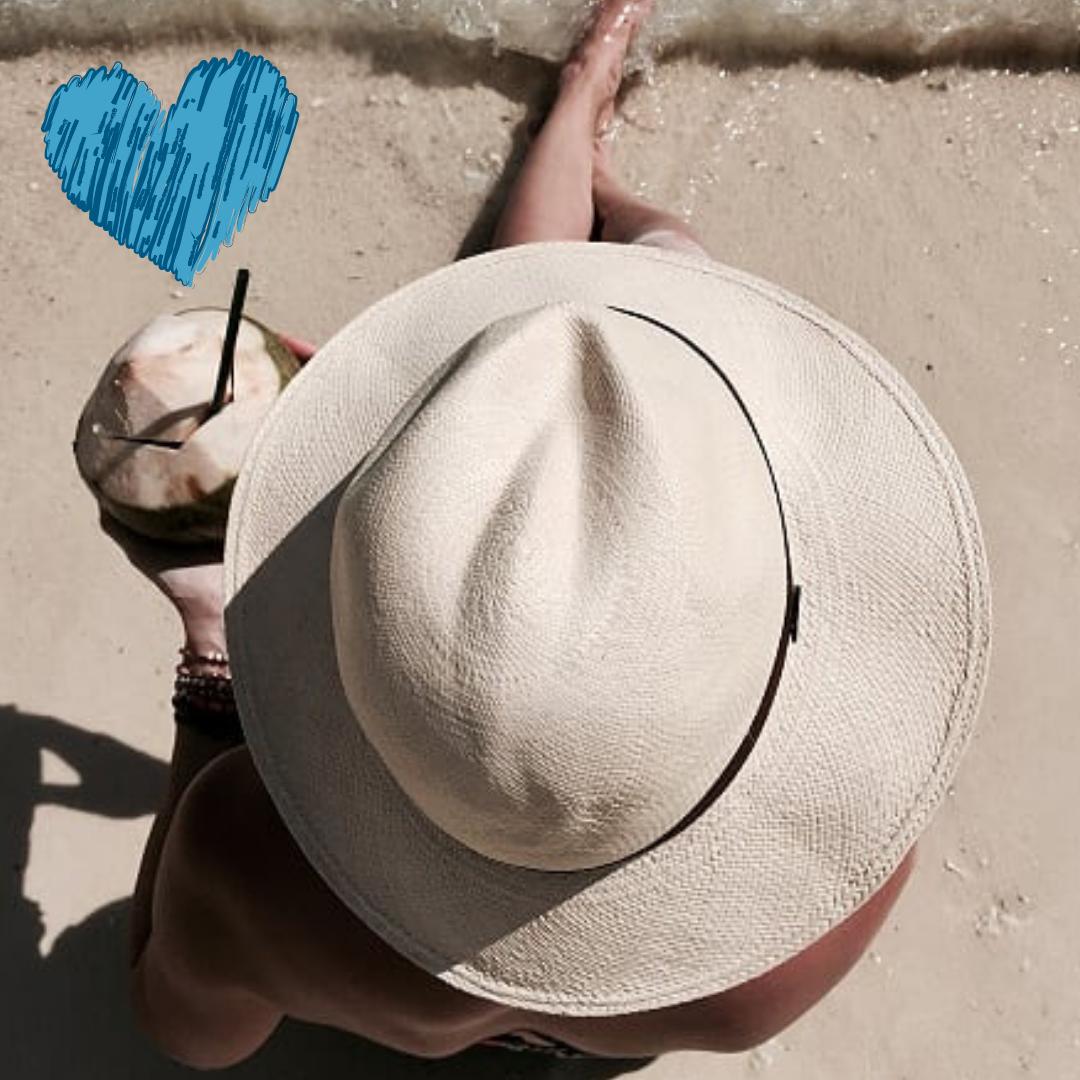 słomkowy kapelusz