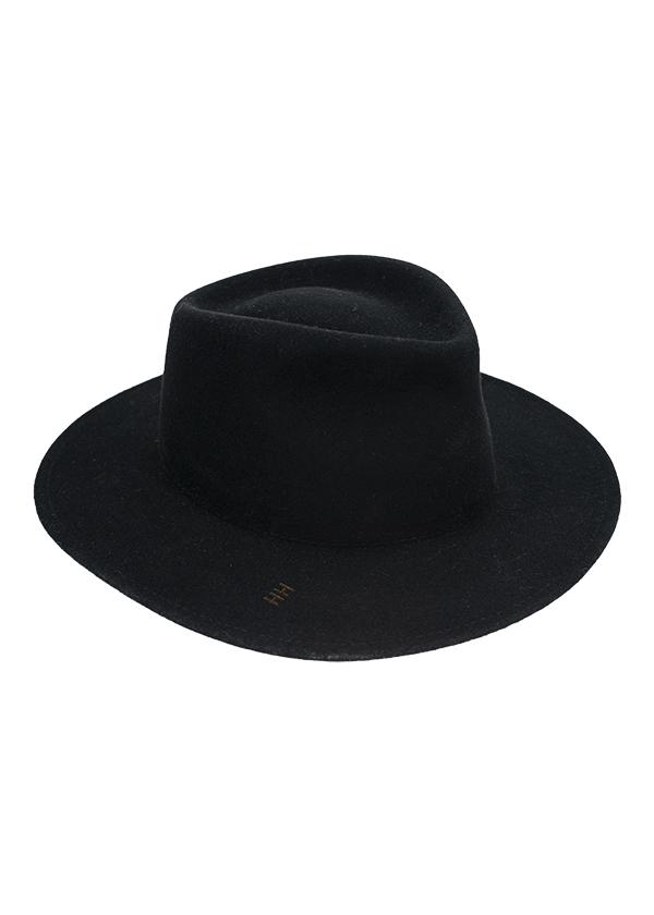 Kapelusz HH louis czern 7 cm